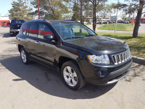 2013 Jeep Compass SUV, 4x4, auto, Loaded, only 36,000 km.