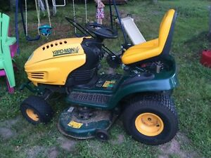 Yardman ride on lawn mower