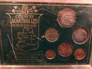 1970 irish coin set