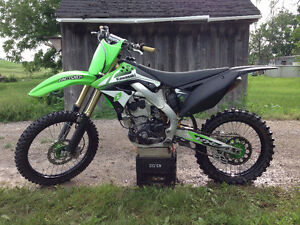 REDUCED 2009 KX 250F Monster Edition