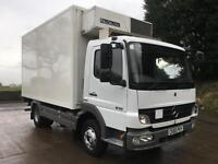 2010 60 Mercedes Atego 816 Euro 5 14ft fridge box, 180 kms