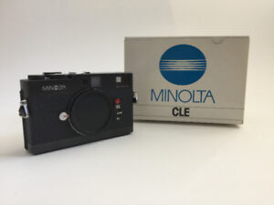Minolta CLE Randgefinder 35mm film Camera (Body)