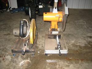2 chop saws