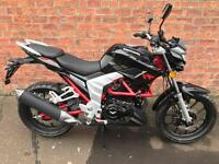 NEW Euro 4 Lexmoto Venom 125 learner legal own this bike for only £10.62 a week