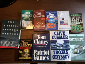 Lot  of 10 Books for sale
