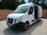 NISSAN NV400 DCI SE LWB 125 BHP ELECTRIC PACK 3 SEATS