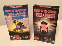 Rare VHS - Final Fantasy: Legend of the Crystals