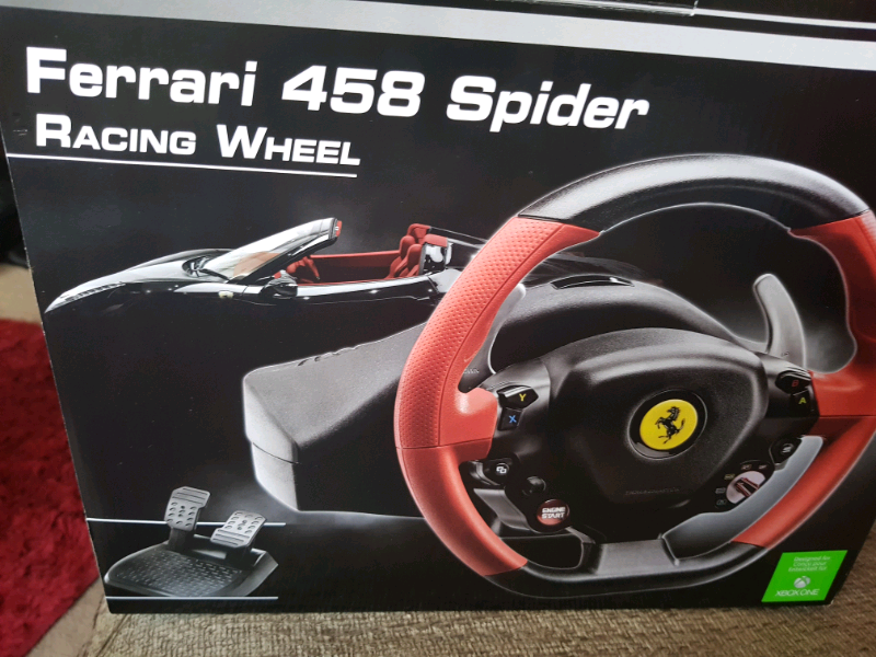 Thrustmaster Ferrari 458 Spider Racing Wheel Xbox One In Cupar Fife Gumtree