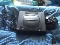 Sega saturn console complete system