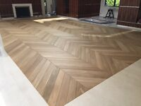 Hardwood floor fitter, Parquet, Chevron, Plank floors