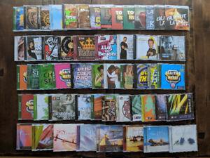 Lot de 53 CD musical d'entraînement professionnel avec BPM