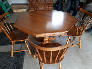 Maple dining Set/free delivery
