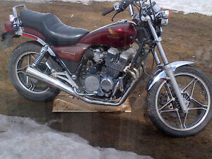 WANTED 550CC MOTORCYCLE