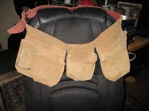 Leather carpenters aprons