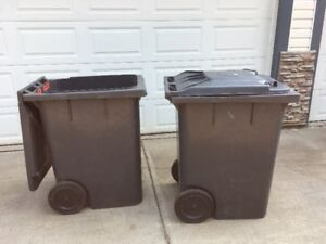 Construction Garbage cans