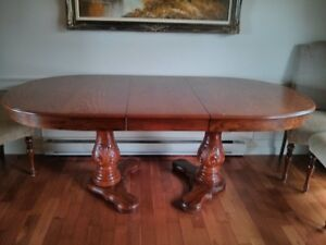 Big oak table