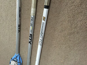 Lacrosse shafts, used but in great condition no dents