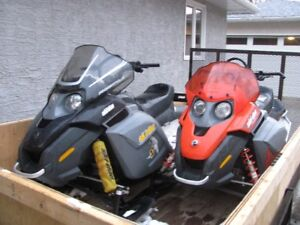 2007 and 2008 Ski-doo Freestyles for Sale