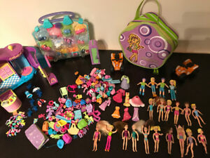 Polly Pocket and accessories
