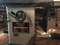 Delta unisaw and king double sided planer