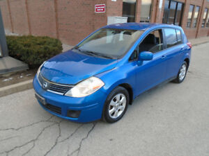 2008 Nissan Versa Hatchback - AUTOMATIC | 4 CYL | ALLOYS