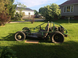 DuneBuggy with a 1970 VW super beetle engine in it