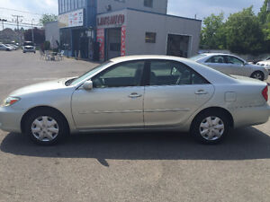 2003 Toyota Camry LE AUTOMATIQUE 4Cylindres 163,xxx KM 2,998$