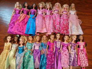 Barbies & Barbie-Type Dolls (50 in total) in Great Condition