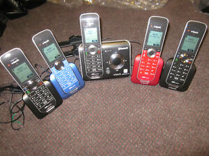 VTech DS6472-5 Phone/Answering Systems - 5 wireless handsets