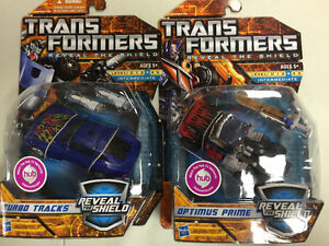 Transformers Reveal the Shield Tracks and Optimus Prime