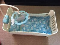 Baby annabell brother George cot bed