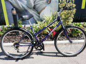 "Ladies mountain bike 26"" wheels 16"" frame 5 speed Shimano sis gears"