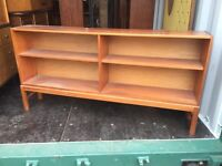 Retro teak 1970's display cabinet McIntosh
