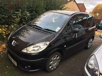 56 plate Peugeot 1007 1.4 petrol manual low milege