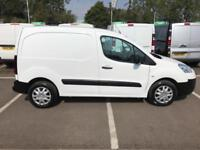 Peugeot Partner L1 850 S 1.6 Hdi 92 Van [Sld] DIESEL MANUAL WHITE (2014)