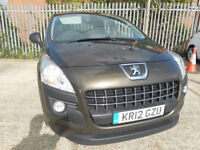 2012 Peugeot 3008 Crossover Active 1.6 HDi Automatic Full Service History
