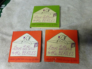 2 VINTAGE 1964 LOVE LETTERS TO THE BEATLES BOOKS - PARKER PICK