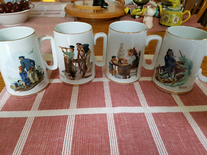 Collector mugs