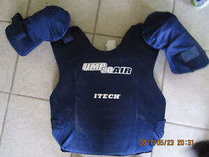 "Umpire chest protector-15""-VG condition"