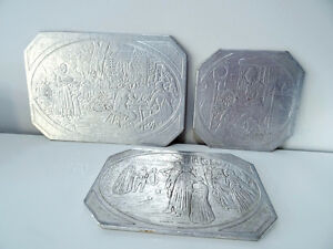 Early America 1930s SAYFORD COMPANY trivets hot plates BROOKLYN