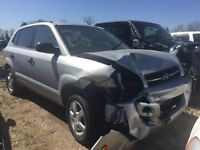 2008 Hyundai Tucson gl 62000 km salvage title as is $1500