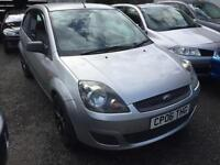2006 Ford Fiesta 1.2 Style Climate 3 Door Silver Ideal First Car