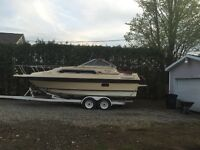 Thunder craft cudy cabin 1986 tres propre