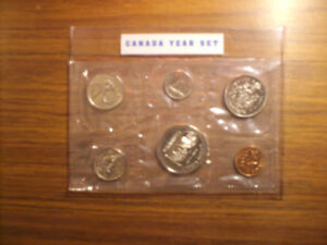 Canada Coin Set. ANNIVERSARY ISSUE  1874 - 1974