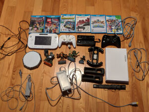 Used Wii U good condition. Comes with 7 games.
