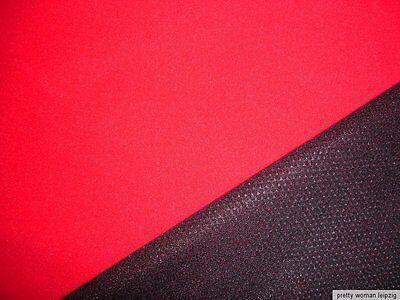 0,5 Lfm Softshell Stoff 6,79€/m² rot querelastisch GA1