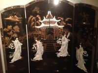 Chinese Oriental Screen Room Divider