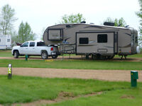 2013 28' Flagstaff fifth wheel