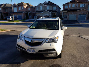 Finance takeover '2010 Acura MDX Tech Package' with extended war