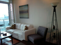 August 16: 2 Bedroom Downtown Furnished @ Maple Leaf Square